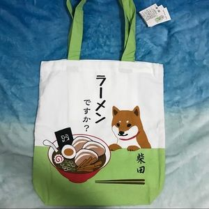 Japan Shibainu Shoulder Tote (is this Ramen?)